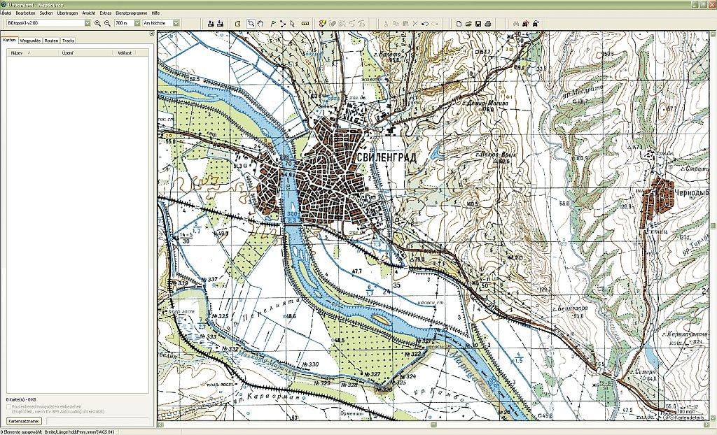 Mapwel 2010: ПО для создания GPS карт Garmin