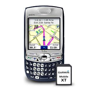 Garmin Mobile XT 512Mb ― GPS навигаторы Garmin