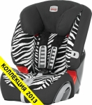 BRITAX EVOLVA 1-2-3 plus Smart Zebra